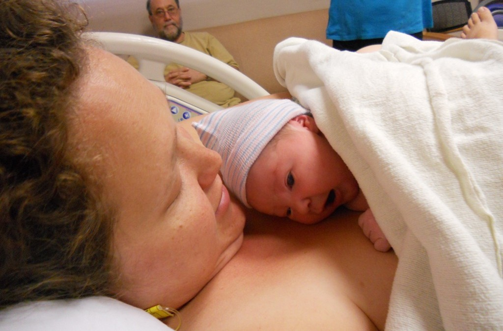 A Mother Is Born! Congrats! You're A Mom!