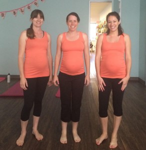 Jamie at Prenatal Yoga