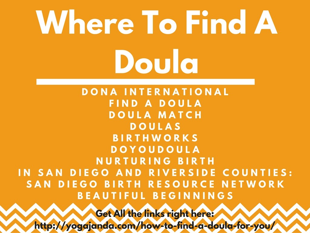 How To Find A Doula For Your Labor & Birth
